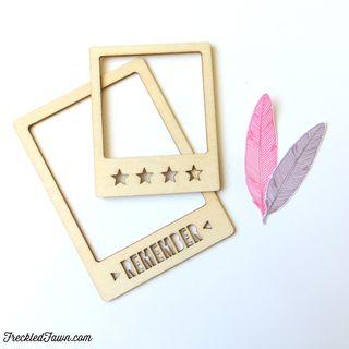 FF remember wood chip frames