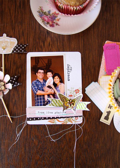 Debee Ruiz- We love you card